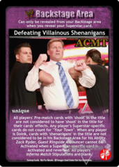 Defeating Villainous Shenanigans - ACMT
